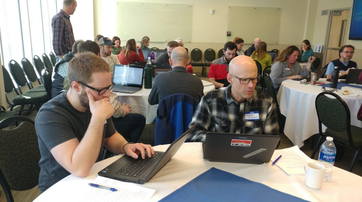 Attendees considering new ways to teach with primary sources