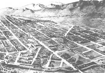 Historical image of Fort Collins