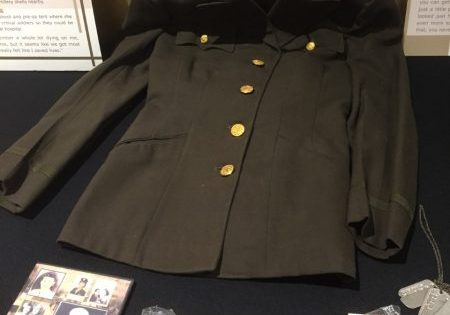 Leila Morrison's uniform and medals