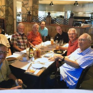 Gaffers meeting at a local Fort Collins restaurant